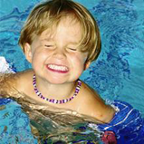 Kid Swimmer Smiling
